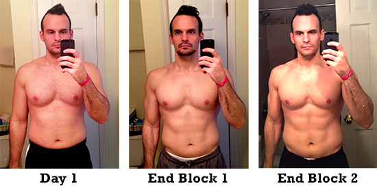 P90X3 Review and Results, Block 2 - X-Gains