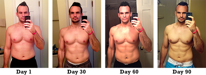P90X3 Results, Transformation, Before and After