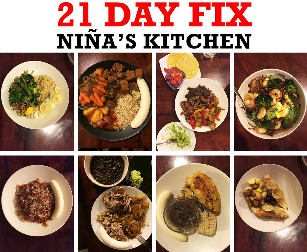 21 Day Fix Food Meal Example