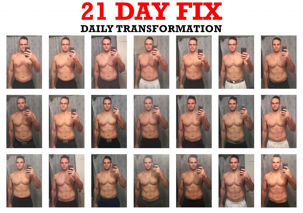 21 Day Fix Transformation Daily Results Before and Afters
