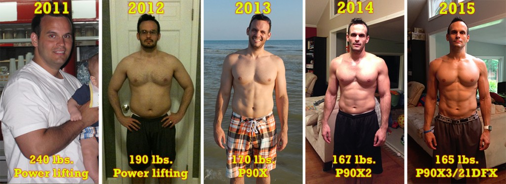 P90X + LEANGAINS (IF) RESULTS, 3 YEARS LATER - X-Gains